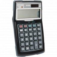 Калькулятор «Citizen» WR-3000, водостойкий и пыленепроницаемый.
