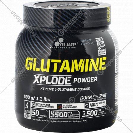 Аминокислоты «Olimp» Glutamine Xplode, апельсин, 500 г.