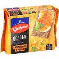 Хлебцы «Щедрые» с апельсином и мятой, 200 г.