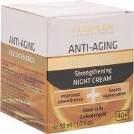 Крем для лица ночной «Floslek» Gold&Energy, Anti-Aging , 50 мл