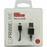 Дата-кабель «Prime Line» 7209, USB-microUSB.