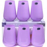 Набор стаканов «Bohemia Crystal» Sandra Purple, 23013/D5124/380