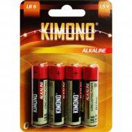 Батарейка «Kimono» Alk,LR06 BL4 АА, Mign