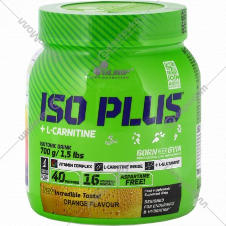 Изотоник «Olimp» Iso Plus Powder, апельсин , 700 г.