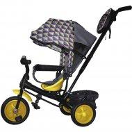 Детский велосипед «GalaXy» Лучик Виват 2, ананасы, розовый/желтый