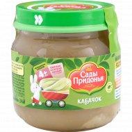 Пюре для детского питания «Сады Придонья» кабачковое, 80 г.