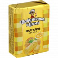 Маргарин молочный «Бабушкина кухня» 82.0%, 200 г.