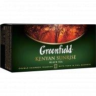 Чай черный «Grinfield» Kenyan Sunrise, 25х2 г