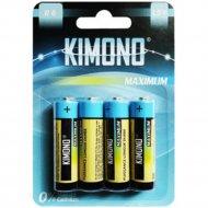 Батарейка «Kimono» R06 BL4 АА, Mign