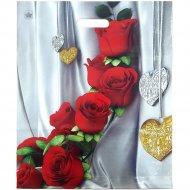 Мешок с ручками «Цветы страсти» 45х38 см.