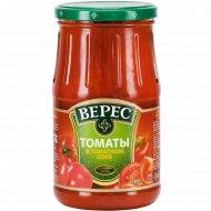 Томаты неочищенные «Верес» в томатном соке, 780 г.