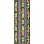 Экран-дверка «Comfort Alumin» Орхидея, 0.83x2 м