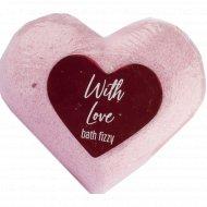 Шипучая соль для ванн «With love» 130 г.