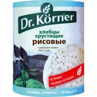Хлебцы «Dr. Korner» рисовые, 100 г.