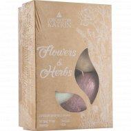 Бурлящие сердечки «Flowers&Herbs» для ванн, 4 шт.