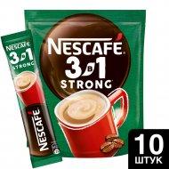 Кофе растворимый «Nesсafe» 3 в 1 крепкий, 10х14.5 г.