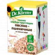 Хлебцы «Dr. Korner» Овсяно-пшеничные со смесью семян, 100 г.