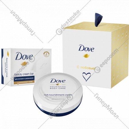 Подарочный набор «Dove» с любовью для вас, 75 мл +100 г.