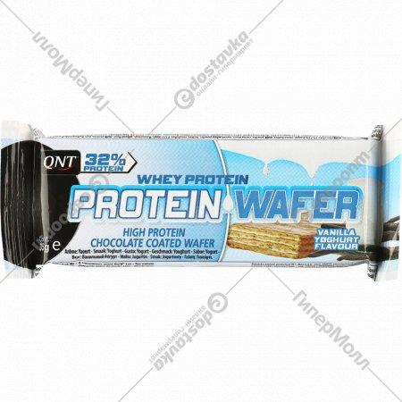 Вафли протеиновые «Protein Wafer Bar» 32%, ванильный йогурт, 35 г.