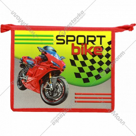 Папка для тетрадей «Спорт байк» формат А5.