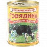 Консерва мясная «Говядина» рубленая, тушеная, 338 г.