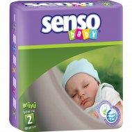 Подгузники «Senso» размер 2, 3-6 кг, 80 шт.