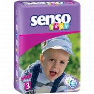Подгузники «Senso» размер 3, 4-9 кг, 70 шт.