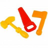 Набор инструментов «Маленький столяр» в сетке, 3 детали.