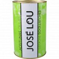 Оливки с косточкой «Jose Lou» по-провански, 4.1 кг.