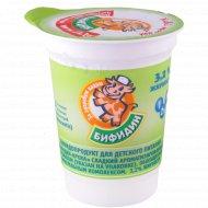 Бифидопродукт «Бифидин-Кроха» со вкусом груши, 3.2%, 200 г.