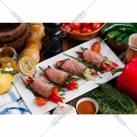Рулетики из овощей с ростбифом 4 шт, 1/150 .