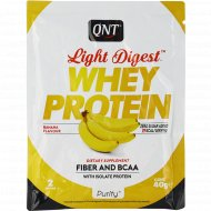 Протеин «QNT» WHEY LIGHT DIGEST, банан, 40 г.