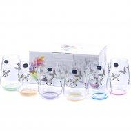 Набор стаканов «Bohemia Crystal» Butterfly, 23013/S1432/380