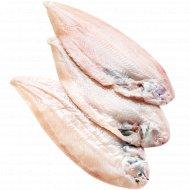 Морской язык «Дуврсол» охлажденный потрошеный с головой, 1 кг