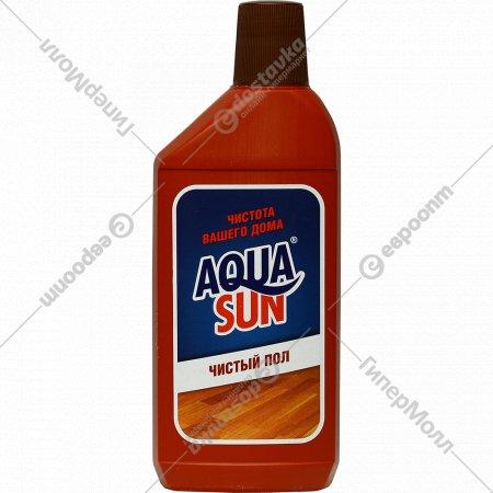 Средство чистящее жидкое «Aqua Sun» чистый пол, 500 мл.
