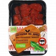 Полуфабрикат мясной гуляш из говядины, охлажденный, 500 г.