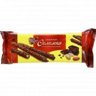 Сливочная соломка «Знак вкуса» в какаосодержащей глазури, 165 г.