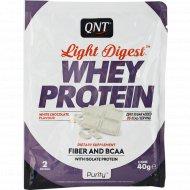 Протеин «QNT» WHEY LIGHT DIGEST, белый шоколад, 40 г.