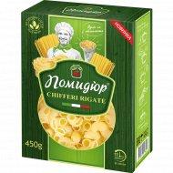 Изделия макаронные «Помидюр» рожки рифленые, 450 г.