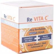 Крем для лица ночной «Floslek» Re Vita C, 40+, 50 мл