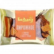 Пирожное «Беллакт» с печеньем и какао, 24%, 75 г.