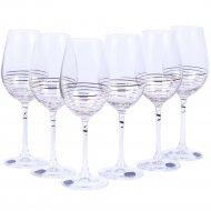 Набор бокалов для вина «Bohemia Crystal» M8434/350, 6 штук, 350 мл