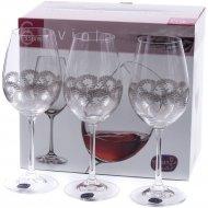 Набор бокалов для вина «Bohemia Crystal» Q9044/350, 6 штук, 350 мл