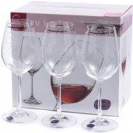Набор бокалов для вина «Bohemia Crystal» Q9103/350, 6 штук, 350 мл
