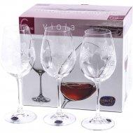 Набор бокалов для вина «Bohemia Crystal» K0562/350, 6 штук, 350 мл
