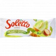 Мороженое «Soletto» фисташки и марципан, 75 г.