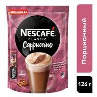 Напиток кофейный «Nescafe Classic Cappuccino» 7 пакетиков по 18 г.