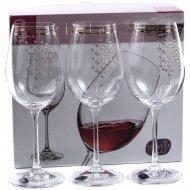 Набор бокалов для вина «Bohemia Crystal» Q9104/350, 6 штук, 350 мл