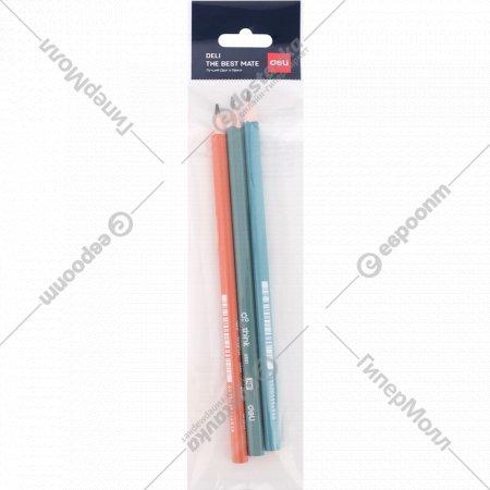 Набор карандашей «Deli» 3 шт