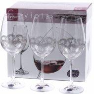Набор бокалов для вина «Bohemia Crystal» Q9044/450, 6 штук, 450 мл